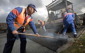 Большинство дорог, отремонтированных в прошлом году, нужно чинить