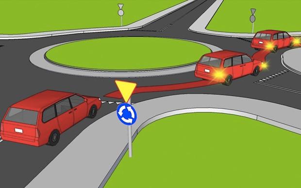 УВАГА: Нові правила проїзду кругових перехресть діють!