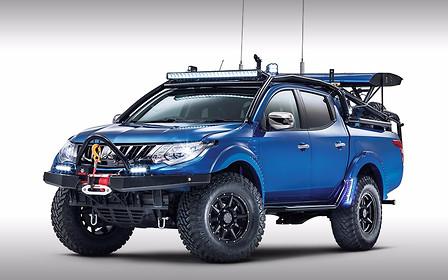 """Top Gear и Mitsubishi построили """"собственный автомобиль"""""""