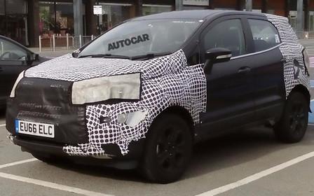 Ford начал дорожные тесты обновленного EcoSport
