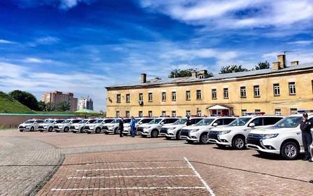 В Киев прибыло 635 гибридных внедорожников для полиции