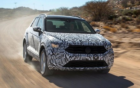 """Volkswagen T-Roc может получить """"заряженную"""" версию"""