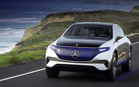Mercedes-Benz готовит четыре новых электрокара