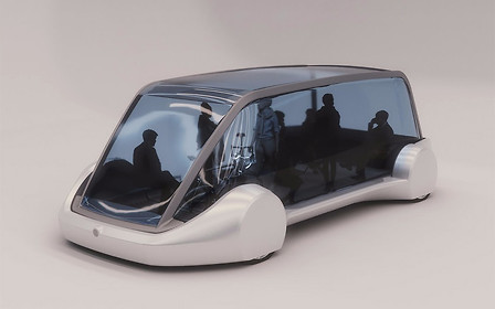 Илон Маск показал новый вид транспорта для подземных тоннелей
