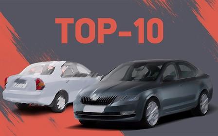 10 машин, которые часто ищут на AUTO.RIA