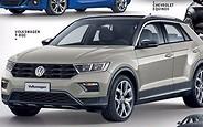 Первые фото: Volkswagen показал свой новый компактный кроссовер T-Roc