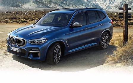 Новый BMW X3 – уже не секрет