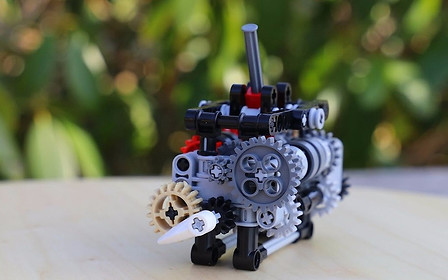 Видео: 17-летний парень собрал из Lego работающую 6-ступенчатую КПП