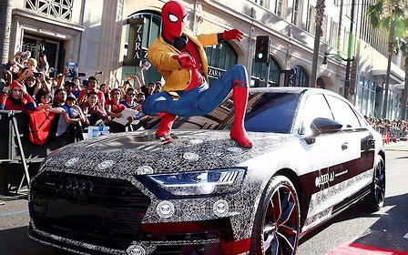 Новый Audi A8 дебютировал на премьере «Человека-паука»