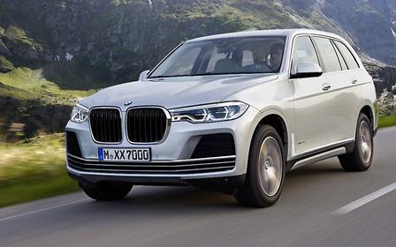 BMW начала дорожные тесты нового X7