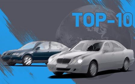 Самые популярные нерастаможенные машины на AUTO.RIA