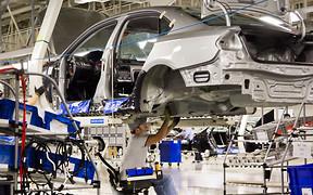 Производство новых авто в Украине выросло на 95%
