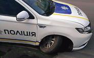 Расстрел? Полиция разбила первый служебный гибрид Mitsubishi Outlander PHEV