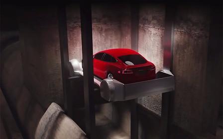 Видео: Илон Маск презентовал «метро для автомобилей»