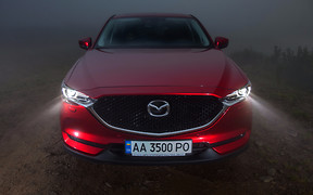Тест-драйв Mazda CX-5 в Украине