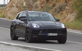 Porsche Macan обновится в следующем году