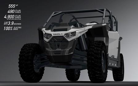Nikola Motors построит 555-сильный электрический багги