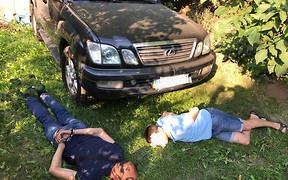 Группу автоугонщков, укравшую Lexus замглавы полиции, уже задержали