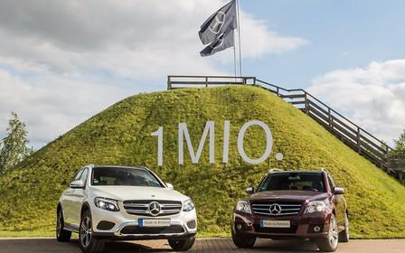 Mercedes-Benz продал миллион кроссоверов GLK/GLC