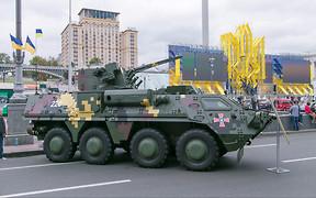 Военная техника на Крещатике