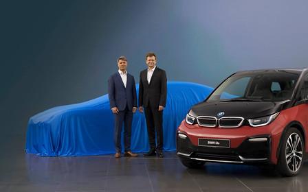 """BMW покажет во Франкфурте прототип """"дальнобойного"""" электромобиля"""