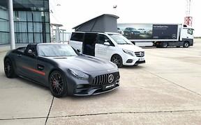 Звезды зажигают: Mercedes-Benz снова провел в Украине шоу Star Experience