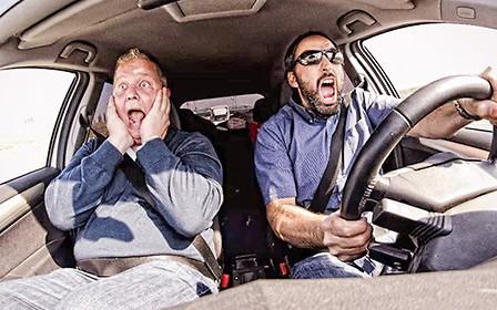 Насколько страшен водитель авто на еврономерах?