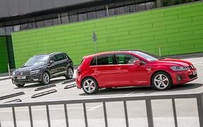Двойной тест-драйв: VW Golf GTI и VW Tiguan
