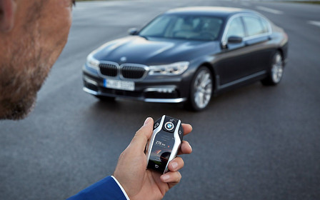 В BMW предлагают отказаться от автомобильных «ключей»-брелоков