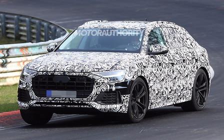Кроссовер Audi SQ8 засвечен на испытаниях