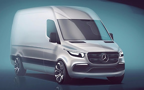Каким будет Mercedes-Benz Sprinter нового поколения
