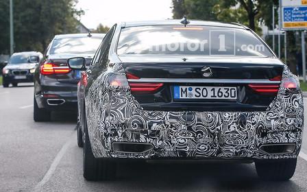 BMW готовится к обновлению «семерки»