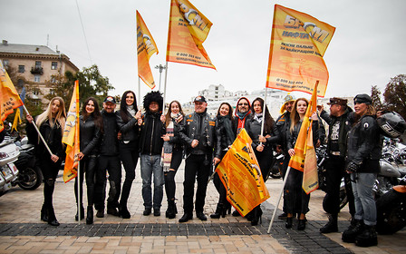 Грандіозне закриття байкерського сезону 2017 від Harley-Davidson Kyiv і мережі АЗК «БРСМ-Нафта»