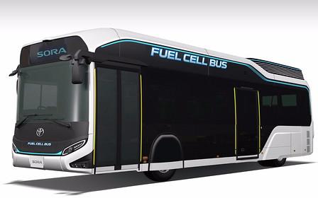 Водород в большом городе: Toyota выводит на улицы новые автобусы