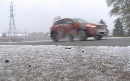 Завтра в Украине ожидается первый снег