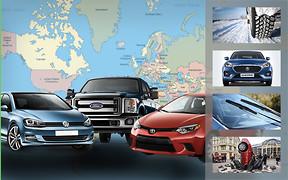 Важное за неделю: самые популярные автомобили в мире и Украине, выбор шин к зиме, седанчик «Дзырь» и шоу The Grand Tour