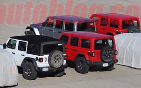 Провал агента: Jeep Wrangler попался в объективы шпионов