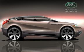 Дал наводку: дизайн купе-кроссовера Range Rover нарисовал «частник»