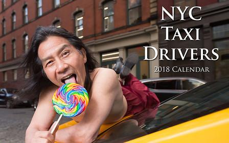 Антигламур: календарь нью-йоркских таксистов 2018