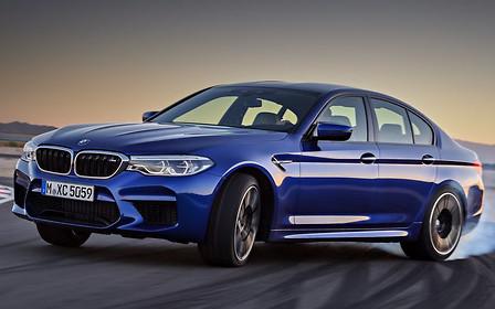 Сборку нового BMW M5 наладили в Германии