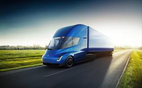 Автомобиль недели: Tesla Semi Truck