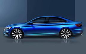 Volkswagen Jetta нового поколения: первое официальное фото
