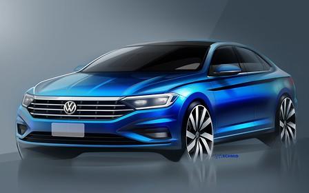 Volkswagen Jetta нового поколения: свежие фото + интерьер
