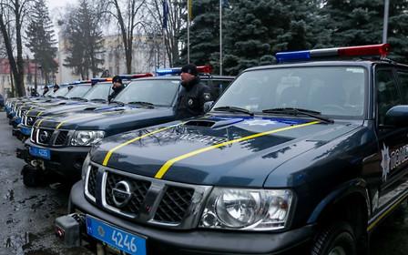 С приветом из ЕС: украинская полиция получила партию внедорожников Nissan Patrol