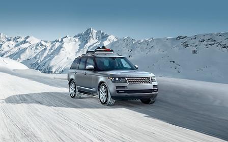 Пропозиції сервісу: до 50% вигоди* на комплекти зимових коліс Land Rover!