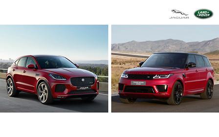 Открой для себя новинки Jaguar Land Rover