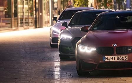 Порівняльний тест-драйв Audi RS 5, BMW M4 і Mercedes-AMG C 63