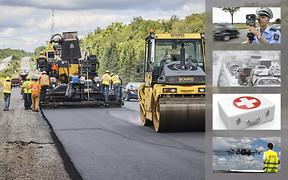 Важное за неделю: «белый список» дорог, как наказывают водителей в Европе, снегопады и топ-10 украинских разработок