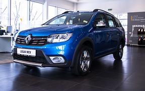 Встал на дыбы: Renault Logan MCV получил версию Stepway
