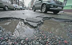 Дороги Киева «убиты» на 80%